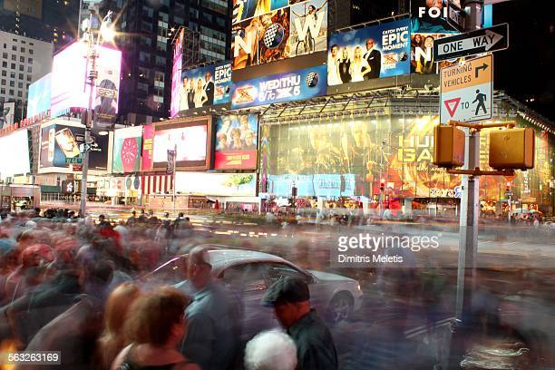 Free Pass, Times Square, an epic moment