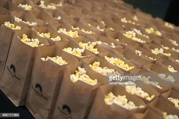 Free popcorn at the LA Screening of Paramount Pictures 'xXx RETURN OF XANDER OF CAGE' at the Paramount Theatre on the Paramount Studios Lot on...
