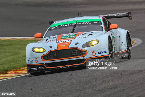 Free Practice 1 for Round 2 of the FIA World Endurance Championship - 6 Hours of Spa-Francorchamps, LMGTE pro Aston Martin racing, Aston Martin...