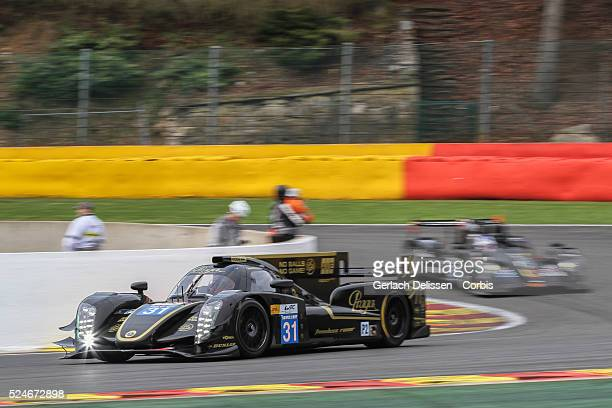 Free Practice 1 for Round 2 of the FIA World Endurance Championship - 6 Hours of Spa-Francorchamps, LMP2 Lotus, Lotus T128 of Kevin Weeda ,...