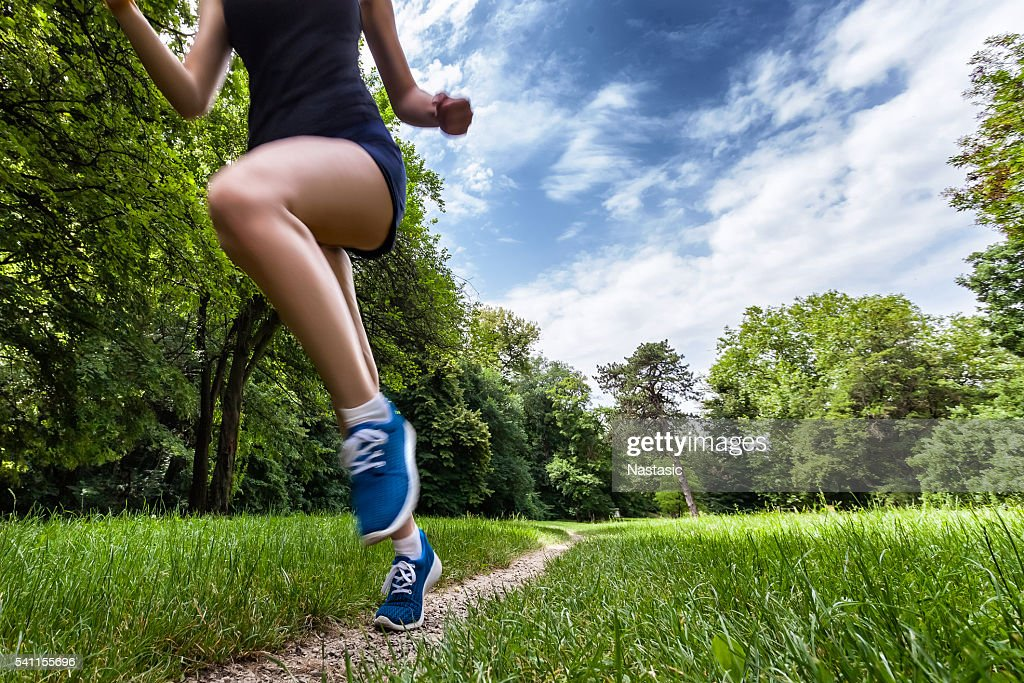 Free running : Stock Photo