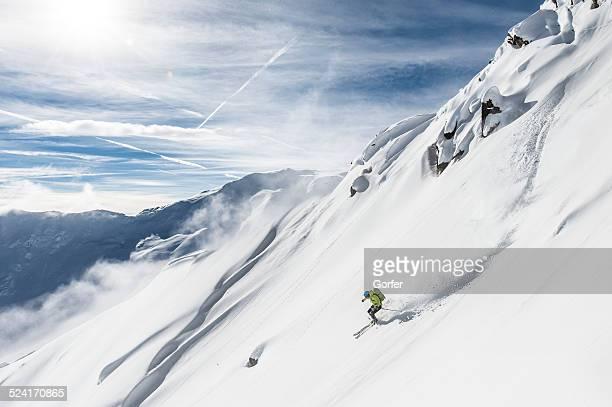 Ski de descente gratuit