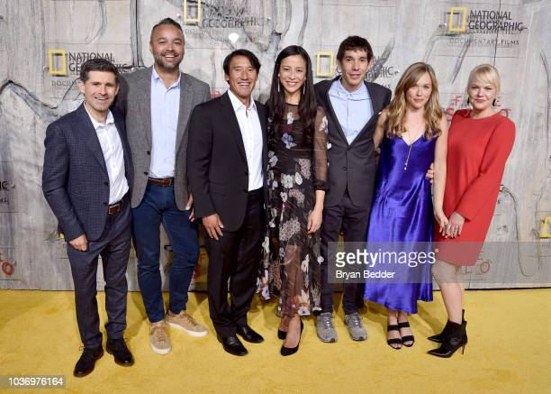 Free Solo Director of Photography Mikey Schaefer Free Solo Producer Evan Hayes Free Solo Director Producer and Cinematographer Jimmy Chin Free Solo...