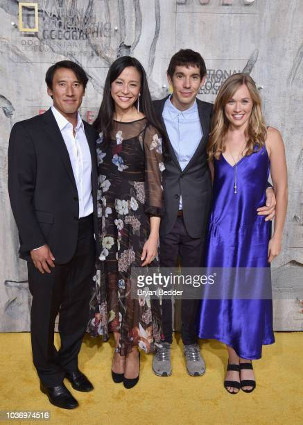 Free Solo Director Producer and Cinematographer Jimmy Chin Free Solo Director and Producer Chai Vasarhelyi Featured Free Soloist Alex Honnold and...
