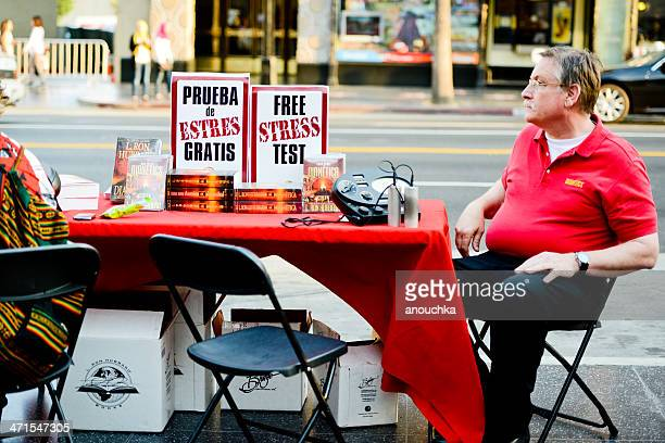 free stress test on hollywood boulevard - stress test stock pictures, royalty-free photos & images
