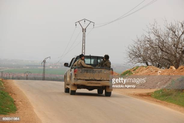 Free Syrian Army and other Syrian opponent groups continue to attack to Assad Regime Forces and break through the center of Hama Syria on March 22...