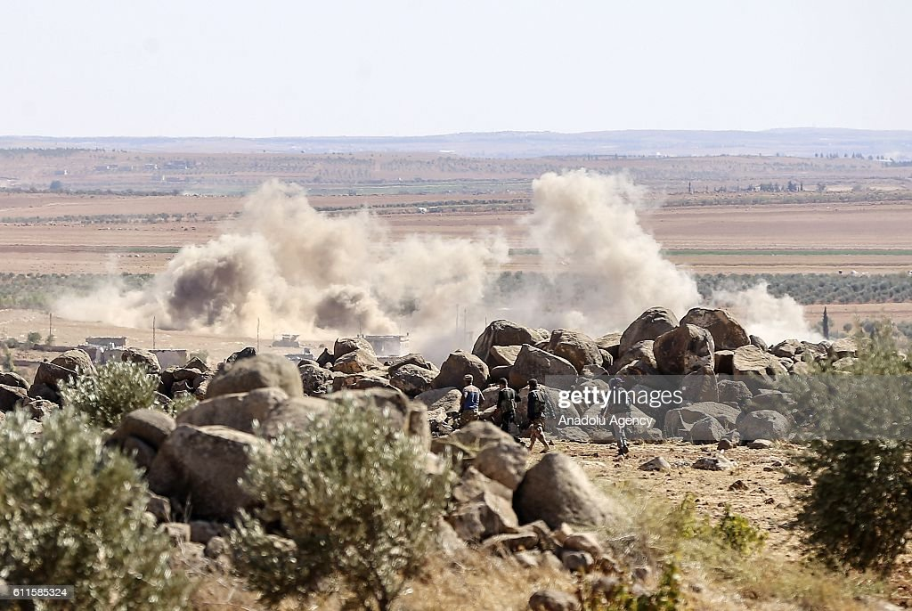 "Operation ""Euphrates Shield"" against Daesh : News Photo"