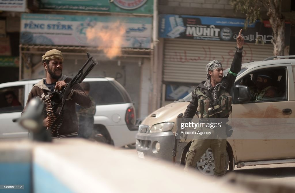 Turkey, Free Syrian Army take complete control of Afrin : News Photo