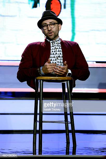 Free The Children ambassador Spencer West attends WE Day Toronto at the Air Canada Centre on October 1, 2015 in Toronto, Canada.