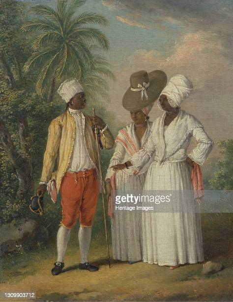 Free West Indian Dominicans;Free Natives of Dominica, ca. 1770. Artist Agostino Brunias. .