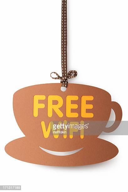 Free WiFi on coffee cup