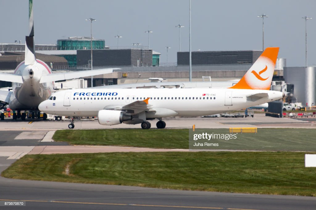 Freebird Airlines A320 Stock Photo Getty Images