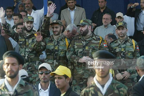 Freed Lebanese prisoners arrive from Israel prisons as Hezbollah prepare to receive the bodies of 200 soldiers during an exchange of prisoners with...