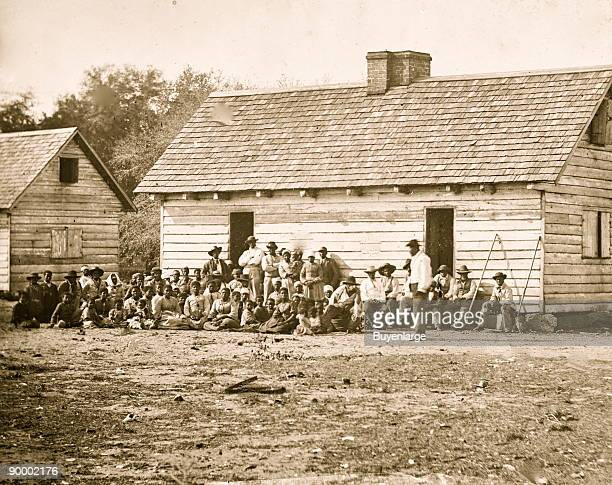 Freed Slaves on the Smith Plantation