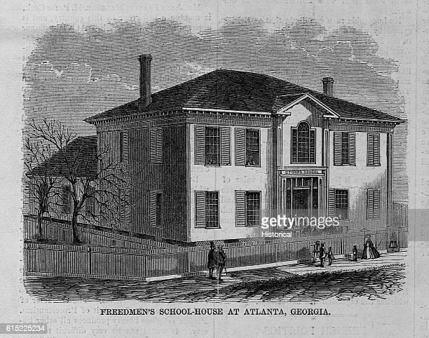 Freedmen's school-house at Atlanta, Georgia.