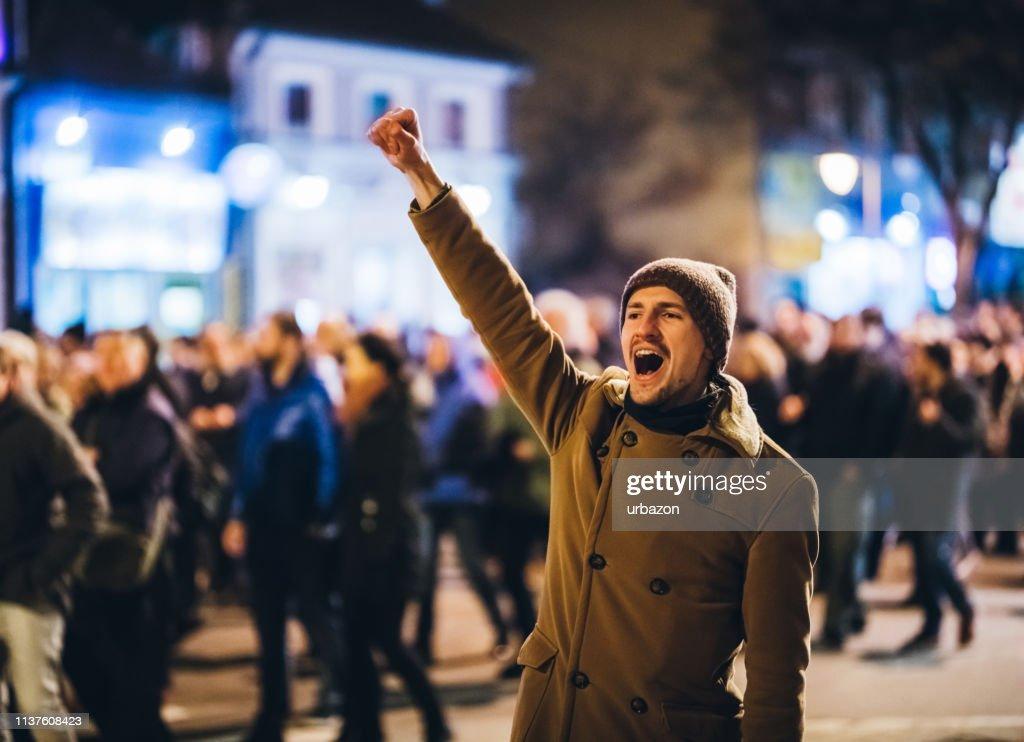 Freiheitskämpfer : Stock-Foto