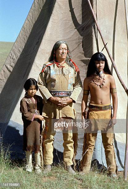 PRAIRIE Freedom Flight Episode 13 Pictured Dawn Biglay as Yellow Feather Nick Ramus as Little Crow Guillermo San Juan as Spotted Wolf Photo by Ted...
