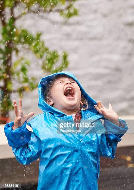 Freedom in the rain
