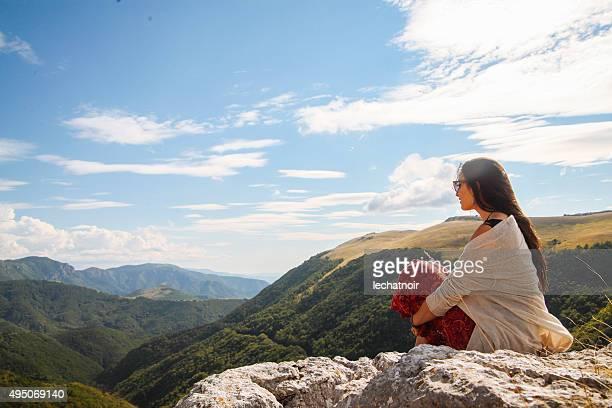 Freiheit auf die Berge