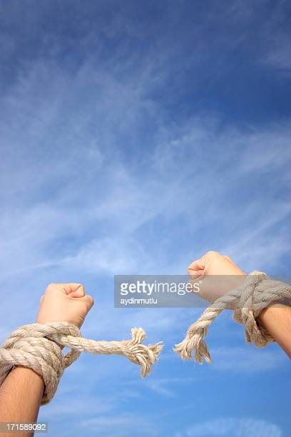 freedom - human trafficking stock photos and pictures