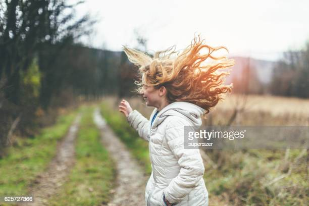 freedom - petite teen girl stock photos and pictures