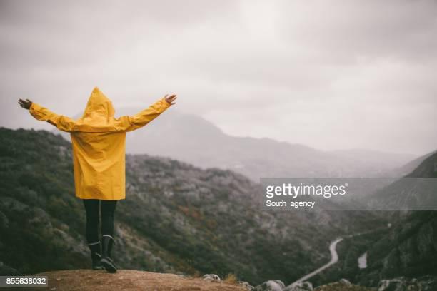freedom - raincoat stock pictures, royalty-free photos & images