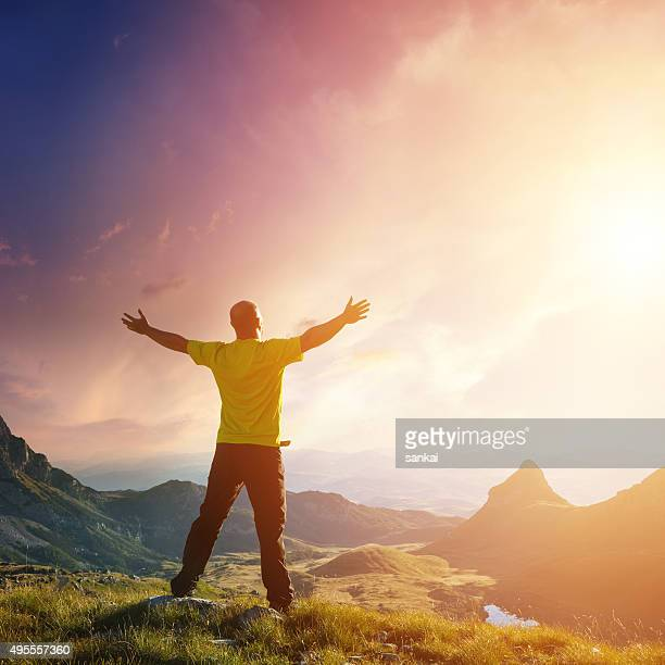 Freedom. Spirituality concept.