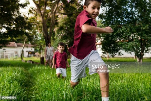Libertad para jugar y correr