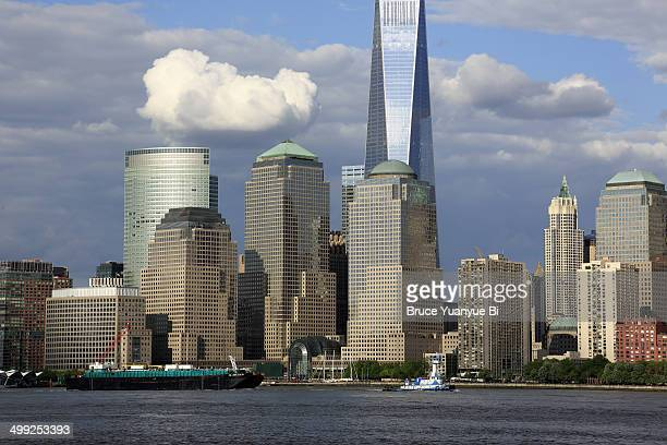 Freedom Tower and Lower Mnahattan