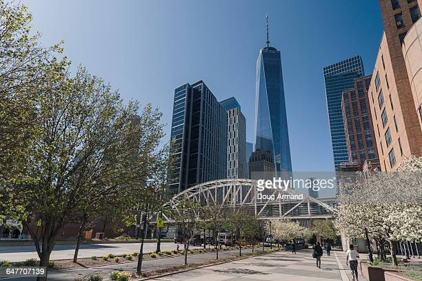 Freedom Tower and skyscrapers, New York, USA
