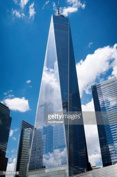 freedom tower new york city - one world trade center stock pictures, royalty-free photos & images