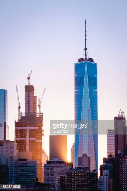 freedom tower - one world trade center stock pictures, royalty-free photos & images