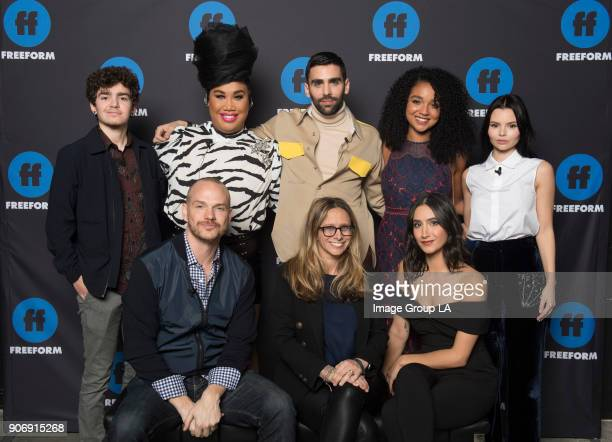 FREEFORM Freeform Disneys young adult television network hosted their first ever Freeform Summit today Jan 18th in Hollywood featuring panel...