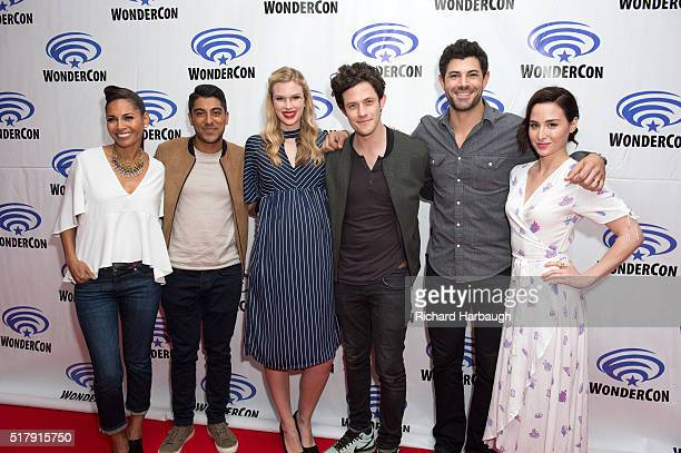 FREEFORM Freeform gave fans the opportunity to get exclusive access to the casts of their shows 'Shadowhunters' and 'Stitchers' on March 25 at...