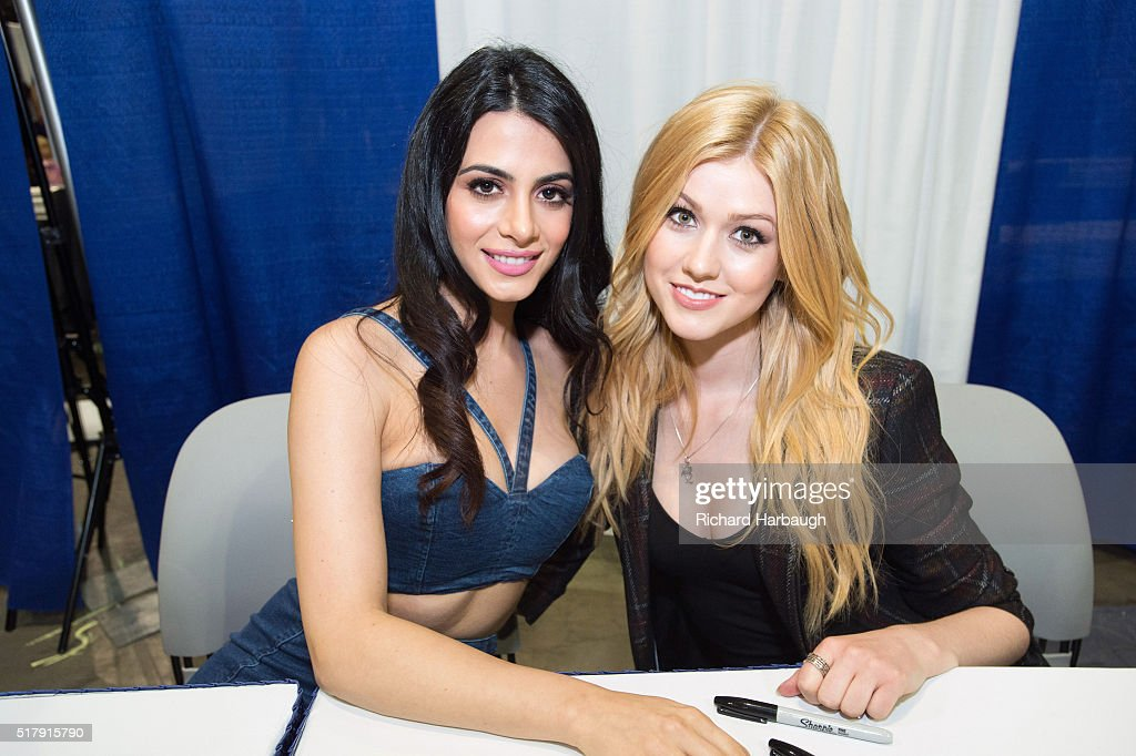 FREEFORM - Freeform gave fans the opportunity to get exclusive access to the casts of their shows 'Shadowhunters' and 'Stitchers' on March 25 at WonderCon in Los Angeles. (Photo by Richard Harbaugh/Freeform via via Getty Images)EMERAUDE