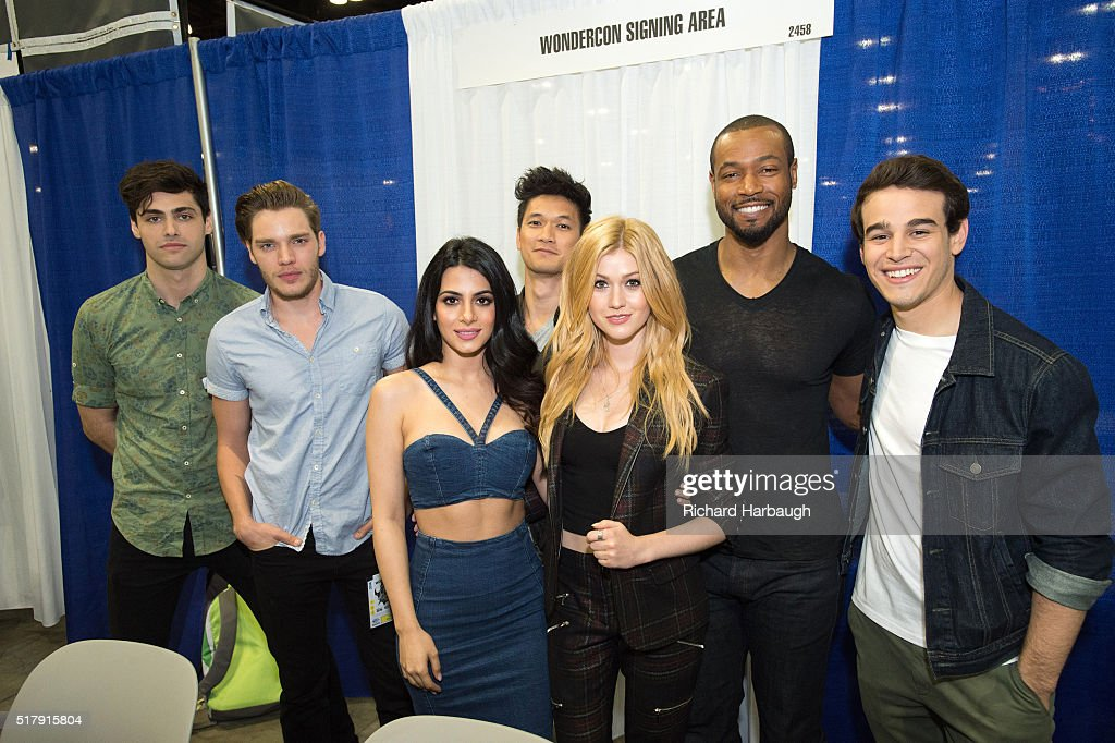 FREEFORM - Freeform gave fans the opportunity to get exclusive access to the casts of their shows 'Shadowhunters' and 'Stitchers' on March 25 at WonderCon in Los Angeles. (Photo by Richard Harbaugh/Freeform via via Getty Images)MATTHEW
