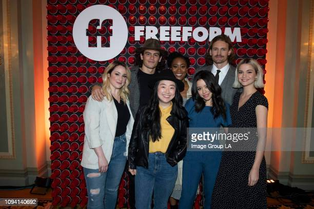 "Freeform hosted a very special ""Hangover Breakfast"" for TCA members today in Pasadena, California with Freeform president Tom Ascheim and cast..."