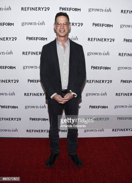 Freeform President Tom Ascheim arrives at the premiere of ABC's 'Grownish' on December 13 2017 in Hollywood California