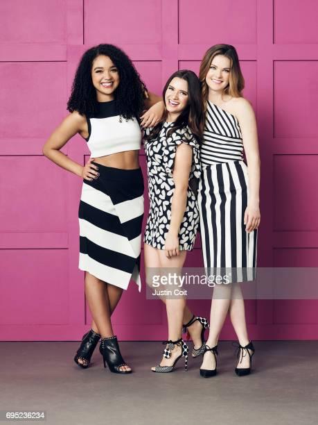 TYPE Freeform 'The Bold Type' stars Aisha Dee as Kat Edison Katie Stevens as Jane Sloan Meghann Fahy as Sutton Brady