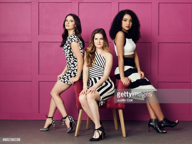 TYPE Freeform The Bold Type stars Katie Stevens as Jane Sloan Meghann Fahy as Sutton Brady Aisha Dee as Kat Edison