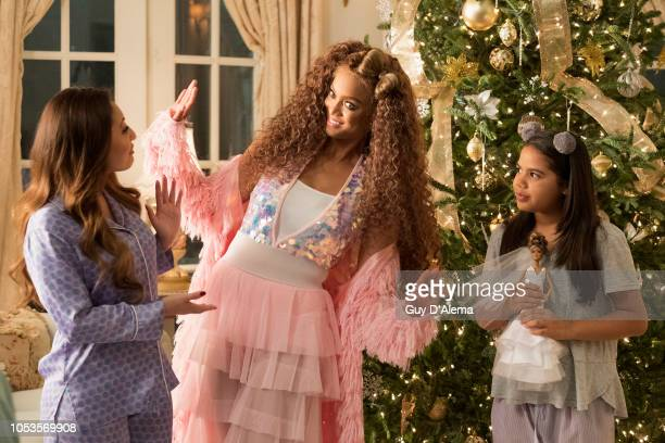 """Freeforms annual """"25 Days of Christmas"""" programming event will be a lot brighter as Tyra Banks reprises her iconic role of Eve in the highly..."""