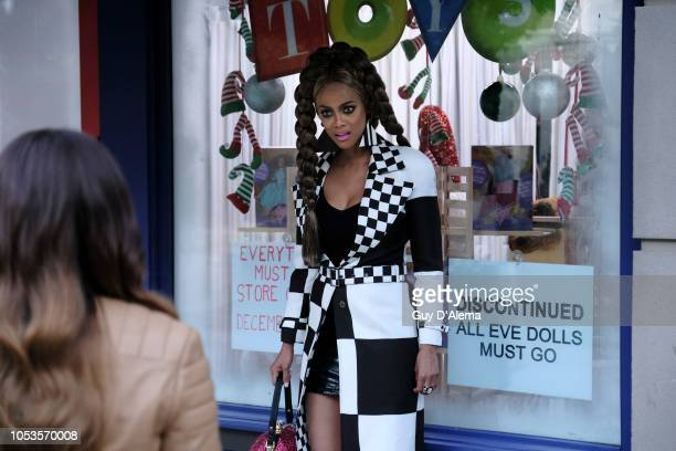 "Freeforms annual ""25 Days of Christmas"" programming event will be a lot brighter as Tyra Banks reprises her iconic role of Eve in the highly..."