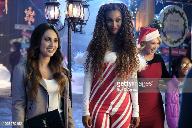 SIZE 2 Freeforms annual 25 Days of Christmas programming event will be a lot brighter as Tyra Banks reprises her iconic role of Eve in the highly...