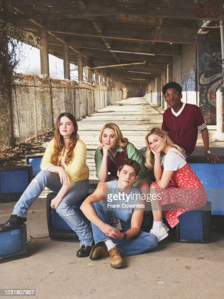 Freeform's Cruel Summer stars Chiara Aurelia as Jeanette Turner, Harley Quinn Smith as Mallory Higgins, Froy Gutierrez as Jamie Henson, Olivia Holt...