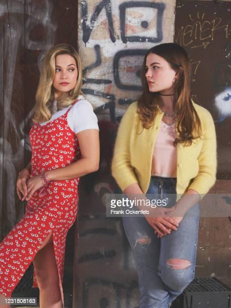 Freeform's Cruel Summer stars Olivia Holt as Kate Wallis and Chiara Aurelia as Jeanette Turner.