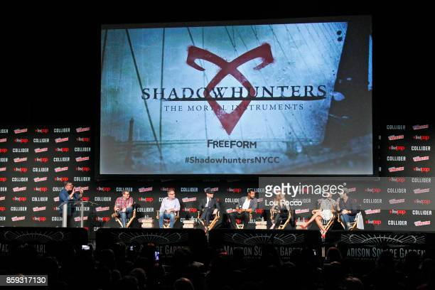 CON 2017 SHADOWHUNTERS Freeforms genre programming was out in full force at this years New York Comic Con on Saturday October 7th with executive...