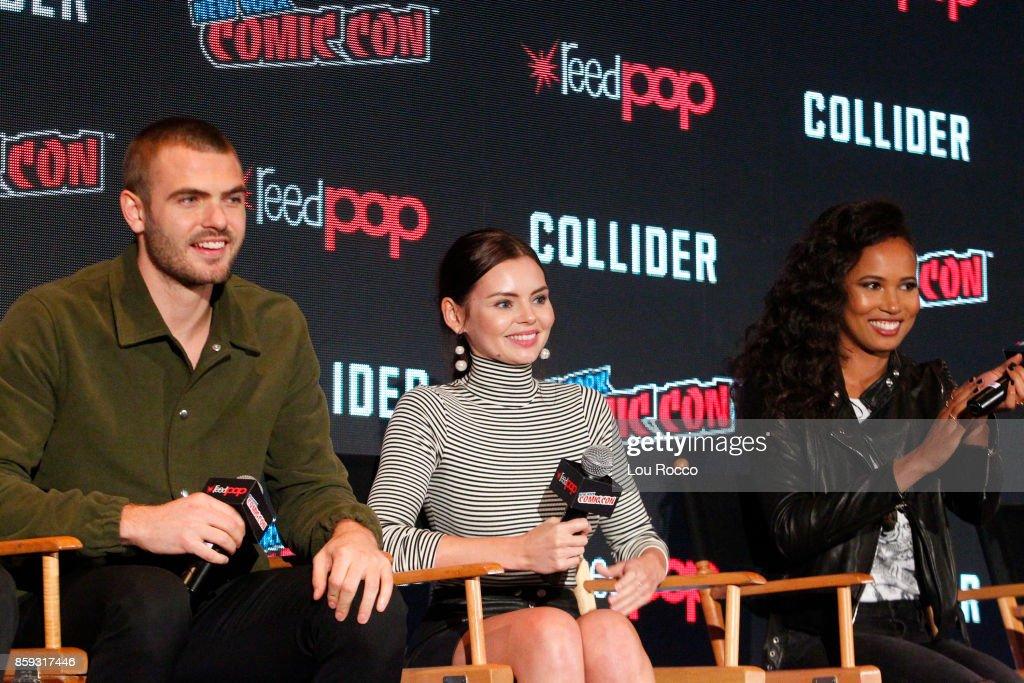 Freeform Panel at 2017 New York Comic-Con : News Photo