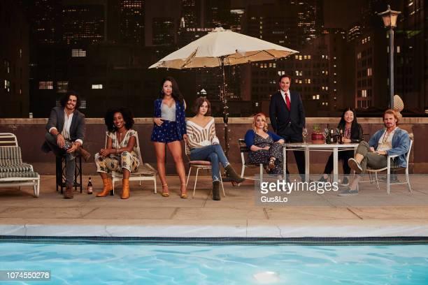 TROUBLE Freeform's Good Trouble stars Tommy Martinez as Gael Zuri Adele as Malika Cierra Ramirez as Mariana Adams Foster Maia Mitchell as Callie...
