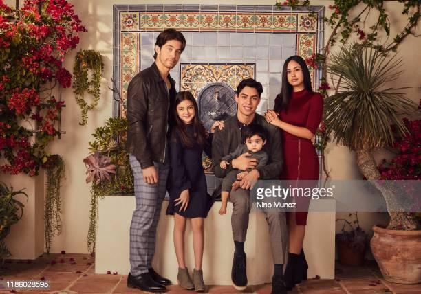 FIVE Freeform's Party of Five stars Brandon Larracuente as Emilio Acosta Elle Paris Legaspi as Valentina Acosta Niko Guardado as Beto Acosta and...
