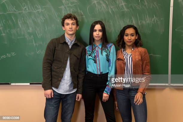 PERFECTIONISTS Freeform's Pretty Little Liars The Perfectionists stars Eli Brown as Dylan Sofia Carson as Ava and Sydney Park as Caitlyn